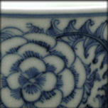BLUE AND WHITE PORCELAIN CUP, 19th
