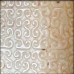 Galet en jade gravé de motifs nuageux Ming